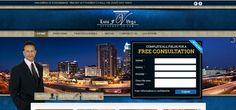 Diseño Página Web - Attorney Luis Vega  www.attorneyluisvega.com