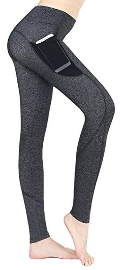 east hong women 39 s yoga leggings exercise workout pants gym tights xl gray pink be sure to. Black Bedroom Furniture Sets. Home Design Ideas
