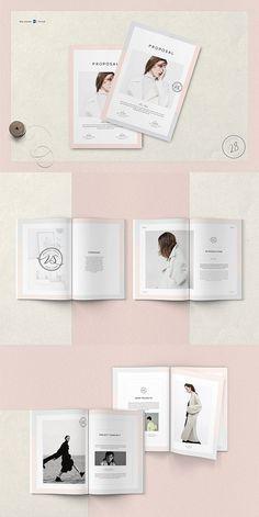 Ideas Design Brochure Template Brosur For 2019 Free Business Proposal Template, Proposal Templates, Google Docs, Layout Design, Web Design, Graphic Design, Brochure Design, Brochure Template, Booklet Design