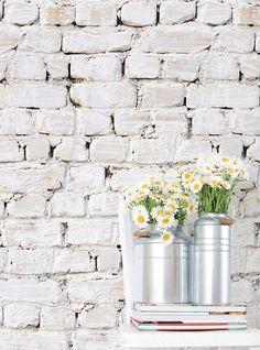 Kemra Whitewash Bricks / KEM027W