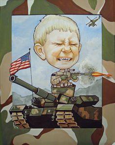 army- my nephew