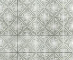 Meet the Next Big Starburst: This tile's engaging pattern and variety of design will surely have you smitten. via @domainehome