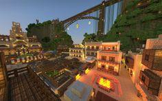 minecraft desert homes   Minecraft Desert Island City