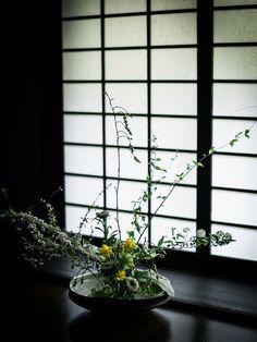 Journal- @localmilk -Japan Retreat At Kurokawa Onsen- Road Trip Pt 1 || Ikebana arrangement made by Chikae O.H. //photo by @chikaeoh