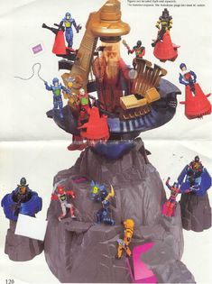 Visionaries action figure mountain playset