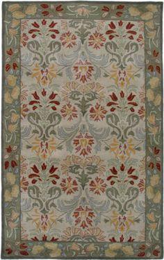 8x10 Arts U0026 Crafts Mission Style Wool Traditional Craftsman Green Decor  Area Rug