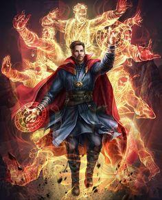 ArtStation - Avengers : Infinity War - Doctor Strange, Jaynorn Lin,w Marvel Dc Comics, Marvel Fanart, Hero Marvel, Bd Comics, Marvel Memes, Captain Marvel, Captain America, Hawkeye Marvel, All Marvel Heroes