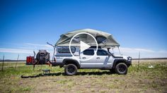 Our Favorite Toyota Tacoma From the 2016 Overland Expo West Toyota Tacoma 2015, Toyota Tacoma Camper Shell, Truck Tent, Truck Camping, Toyota Trucks, Lifted Ford Trucks, Toyota Motorhome, Vw T5, Hilux Camper