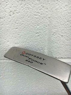 "Odyssey Dual Force 550 Putter 35""~ RH Golf Putter`GOOD COND~ #Odyssey O Words, Golf Putters, Golf Clubs, Ebay"
