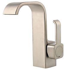 Bathroom Faucets DIY | Pfister Skye Single Control 4 Centerset Bathroom Faucet Brushed Nickel >>> See this great product.(It is Amazon affiliate link) #me