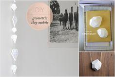inspiration and realisation: DIY Fashion + Home: Do-Inspire-Yourself #13 // clay diamonds tutorials