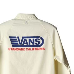 VANS x SD Jacket #standardcalifornia #スタンダードカリフォルニア #16awgoodtimes #16autumnwinter #goodtimes #vans #offthewall #jacket