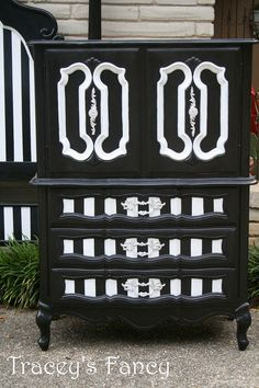 Custom Painted French Provincial  Bedroom Set  by TraceysFancy, $1990.00