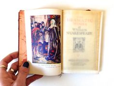 Shakespeare ANTIQUE Book The Dramatic Works by VintageCommon