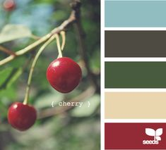 cherry - sophisticated, warm.