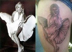 40 Ridiculous Tattoo Fails That Are So Bad They're Hilarious I made a promise to myself a long time ago that I would never get someone's face tattooed on my… Tatoo Fail, Epic Tattoo, Tattoo You, Bad Tattoos, Cool Tattoos, Worst Tattoos, Tattos, Funny Tattoos Fails, Funny Fails