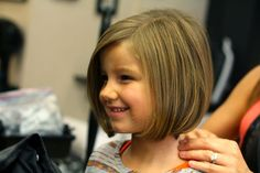Toddler Girl Haircut - December 30 2018 at Little Girl Bob Haircut, Little Girl Short Haircuts, Bob Haircut For Girls, Toddler Haircuts, Little Girl Hairstyles, Long Haircuts, Child Haircut Girl, Toddler Bob Haircut, Kids Girl Haircuts