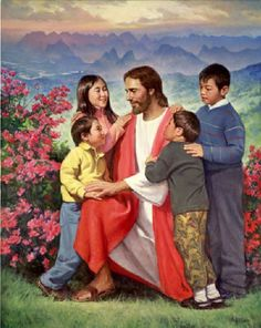 Christ And Children Infinite Worth Perfect Love Mother's Love Jesus As A Little Child In The Arms Of His Love Birth Of Jesus Jesus Teaches The Children For Such Is The Kingdom Of Heaven Story…