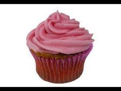 Receta de frosting, buttercream o crema de mantequilla para decorar cupcakes y panquecitos