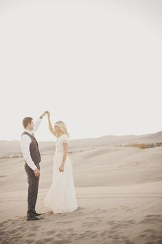 dancing in the desert