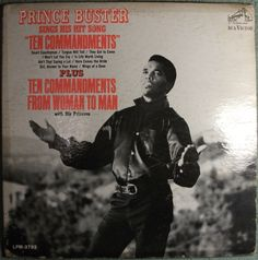 Prince Buster – Sings His Hit Song Ten Commandments 1967