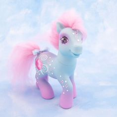 My little Pony cotton candy custom