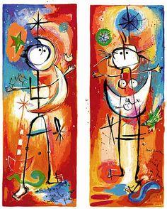 Piel de la Luna by Angeles Nieto Painting, Grandchildren, Art, Fur, Painting Art, Paintings, Painted Canvas, Drawings