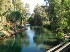Jerusalem, Israel: The Jordan River, had the privilege of being baptized here, twice!