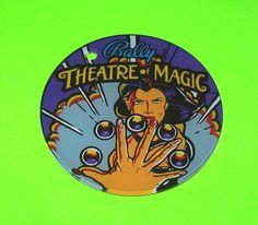 THEATRE OF MAGIC By BALLY ORIGINAL NOS PINBALL MACHINE KEYCHAIN WOMEN w PINBALLS #pinball #pinballpromo