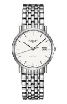 Longines Elegant Automatic 34.5mm Medium watch, model number - L4.809.4.12.6