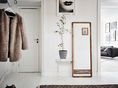 Inspirations and living room ideas from a Scandinavian home tour - ITALIANBARK interior design blog #scandinavian #hometour
