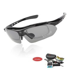 c4dff09a8b3 These polarized sunglasses fit comfortably and have an adjustable nose  piece. Comes with a case