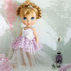 """Dulce violeta. Ropa de la muñeca para la muñeca del animador de Disney 16""""."""