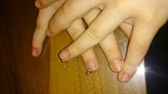 My second nail piercing homemade