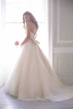 ballgown Madison James wedding dresses