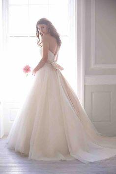 ballgown Madison James wedding dresses