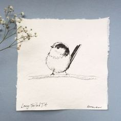 Long-tailed Tit by Kate Walters