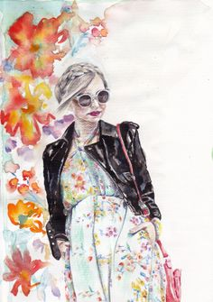 1000 imagens sobre Croquís e girls no Pinterest  Ilustrações de ...