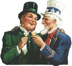Irish American toast