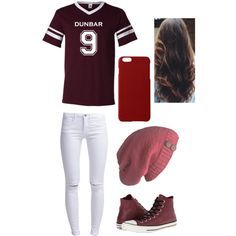 Liam Dunbar Teen Wolf by h-akther on Polyvore featuring ONLY, Converse and Maison Takuya