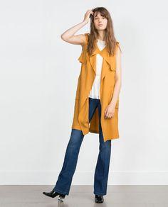Image 1 de LONG GILET de Zara