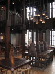 Mackintosh Library at Glasgow School of Art by Charles Rennie Mackintosh 1907-1909