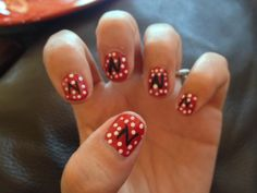 Nebraska Huskers Nails