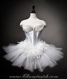 White Swan Ballet Costume  http://www.etsy.com/listing/82517997/size-large-white-swan-ballet-costume