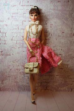 Audrey Hepburn Fashion Doll by Little dolls room