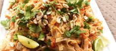 Looking for a quick Thermomix Pad Thai that will go the distance? This is quick, easy and feeds a crowd without costing a fortune. Thermomix Recipes Healthy, Cooking Recipes, Paleo Recipes, Thai Recipes, Chicken Recipes, Asian Recipes, Tasty Thai, Quirky Cooking, Main Meals