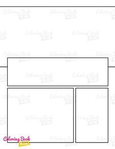 A blank comic book with professional panels to create great stories for children, adults, amateurs and professionals. 120 pages of templates designed to meet the highest requirements of both amateur and professional artists. Arranging the panels focuses on the main larger drawing, where we have the center of the page and smaller panels where we draw additions to the stage. Blank Comic Book, Comic Page, Comic Books, Stories For Kids, Great Stories, Create Your Own Comic, Comic Book Drawing, Comic Book Template, Larger