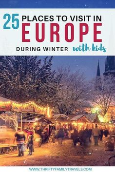 Want to know the best winter destinations in Europe for your Europe winter itinerary? Travel Bloggers tell us the best places to visit in Europe in winter. Click the link for the best winter breaks Europe has, with the best European cities to visit in December for a white Christmas & warm places in Europe in December.