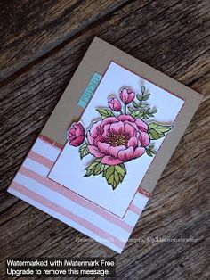 Renee Lynch: INKspired Blog Hop 32 birthday blooms stampin up 2016 occasions