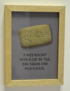 Jo likes a nice biscuit with hers